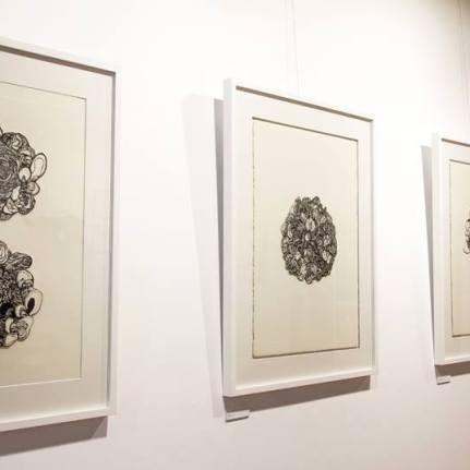 Illustrative exhibition at Wonderwall Gallery, Geelong.2014.