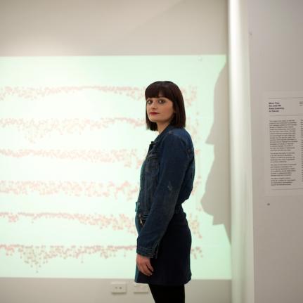 2017 Tread Exhibition:Projection work by Soraya Mobayad+Riley McDonald