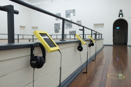 PICA:Hatched 2015 National Graduate Exhibition. 'The Noise of Discardia Suite' Audio Installation.