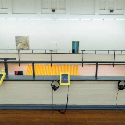 2015 Audio installation at Perth Institution of Contemporary Art